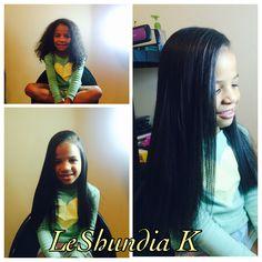 Londyn hair straightened out #hair  #long #haironfleek