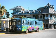 Some ideas of things to do in the different areas. Beach trolley from Clearwater Beach to Pass-a-Grille, Florida. St Petes Beach Florida, Clearwater Beach Florida, West Florida, Florida Beaches, Florida Vacation, Florida Travel, Vacation Rentals, Vacation Ideas, Vacation Spots