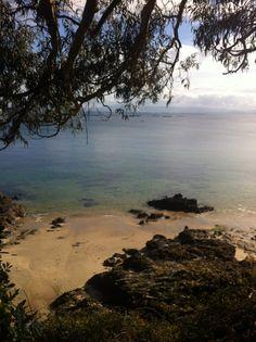 La Playa De Supinal en Palmeira, Galicia
