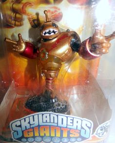 Skylanders Giants Bouncer Deal with the Wheel Action Figure #Activision