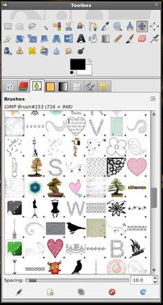 Fabulous Gimp Brushes to Download | Huge List! - StarSunflower Studio