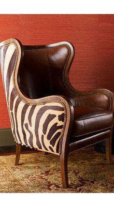 Zebra and Leather