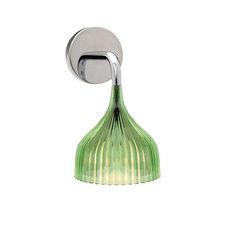Kartell - E Wall Mounted Lamp - Green