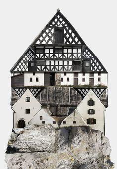 collage architecture anastasia savinova