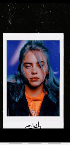 Billie Eilish - Eye Makeup tips Billie Eilish, Cute Wallpapers, Wallpaper Backgrounds, Iphone Wallpaper, Inka, Celebrity Drawings, Foto Art, Shawn Mendes, Photos