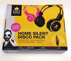 WIRELESS HEADPHONE DOUBLE PACK Silent Disco Kit With 2 Headphones (Pink and Black), 2 Channel Transmitter And Cables. Perfect For Home, Use With Ipod, Mobile, Laptop, TV and DJ. has been published to http://www.discounted-tv-video-accessories.co.uk/wireless-headphone-double-pack-silent-disco-kit-with-2-headphones-pink-and-black-2-channel-transmitter-and-cables-perfect-for-home-use-with-ipod-mobile-laptop-tv-and-dj/
