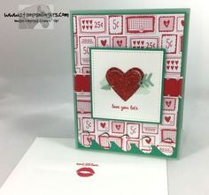 Stamps-N-Lingers. 2017 Occasions Catalog sneak peek. Sealed with Love Stamp set, Love Notes Framelits, Sealed with Love DSP Stack. https://stampsnlingers.com/2016/11/15/stampin-up-sealed-with-love-bundle-sneak-peek/