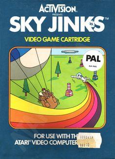 "Les ""Atari 2600 Rainbow Boxes"" d'Activision - Sky jinks - 1982"