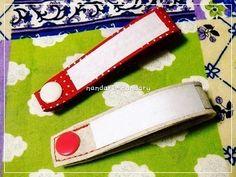 バイアステープでお名前タグの作り方|ソーイング|編み物・手芸・ソーイング|ハンドメイド | アトリエ