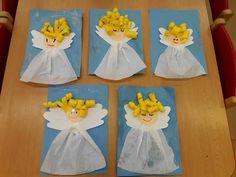 Homemade Christmas Cards, Advent, Kindergarten, Seasons, Angel, To Draw, Handmade Christmas Cards, Seasons Of The Year, Kindergartens