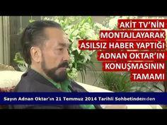 Akit TV'ye cevap: Adnan Oktar'ın Filistin ilgili açıklamasının tamamı - Adnan Oktar Diyor Ki