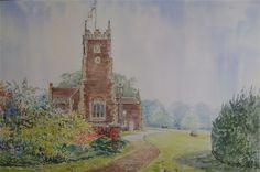 Art of Alan Stuttle - Sandringham Church