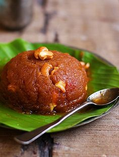 Ashoka halwa recipe with step by step photos. Today in Diwali 2016 sweets recipes series I am sharing the ever popular Tanjore/ thriuvaiyaru style Ashoka halwa recipe. Ashoka halwa recipe is made of moong dal and wheat flour. Indian Dessert Recipes, Indian Sweets, Indian Snacks, Sweets Recipes, Snack Recipes, Cooking Recipes, Indian Recipes, Easy Desserts For Kids, Kid Desserts