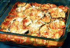 Rakott paradicsomos padlizsán bulgurral Romanian Food, Quiche, Zucchini, Vegetarian, Dinner, Vegetables, Eat, Breakfast, Life