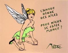 La-fée-clochette - Miss.Tic