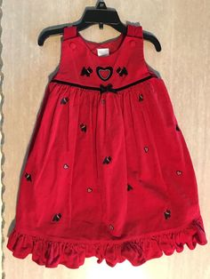 7b14c63a6ed8 Girls Size 5 Red Jumper Dress  fashion  clothing  shoes  accessories   kidsclothingshoesaccs
