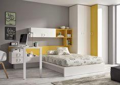 Dormitorios juveniles  Habitaciones infantiles y mueble juvenil Madrid: Dormitorios juveniles kids touch ros