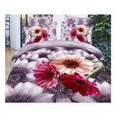 Pink purple sunflower print bedding set queen bedclothes duvet cover bedspreads bed sets comforter sets bed cover for duvet Purple Bedding Sets, Cheap Bedding Sets, Queen Bedding Sets, Luxury Bedding Sets, Comforter Sets, 100 Cotton Duvet Covers, Duvet Cover Sets, Pillow Covers, King Size Bed Linen