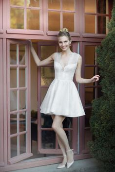 robe de mariée courte / Short wedding dress