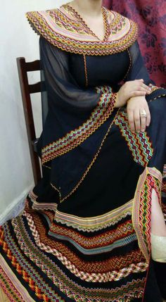 Algerian kabyle dress modern