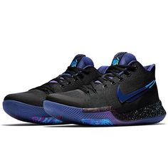 new product 4748a 92c80 Nike Kyrie 3 Kyrie Irving Sneakers, Black Nike Shoes, Adidas Shoes,  Basketball Shoes