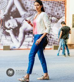 #KeepWalking Indian Street Style http://www.naina.co/photography/keepwalking/ Naina.co-Photographer-Raconteuse-Storyteller-Luxury-Lifestyle-October-2014-Street-Style-WIFWSS15-FDCI-Day01-EyesForFashion-64