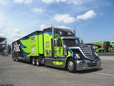 Monster Mile.....Catching The NASCAR Haulers At Dover Downs.
