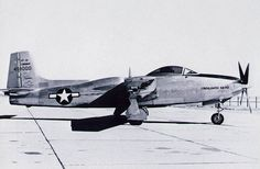 The Consolidated Vultee XP-81 (later redesignated ZXF-81) (1945) was a development of the Consolidated Vultee Aircraft Corporation to build a single seat, long range escort fighter that combined use of both turbojet and turboprop engines. Although promising, the lack of a suitable engine combined with the end of World War II doomed the project.