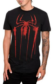 Marvel The Amazing Spider-Man Spray Paint T-Shirt (Hot Topic)