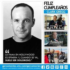 El agente más valioso de S.H.I.E.L.D. celebra su cumpleaños. ¡Felicidades, #ClarkGregg!