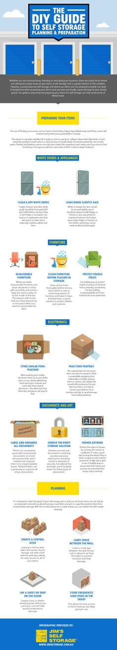 The Ultimate Self Storage Guide Infographic