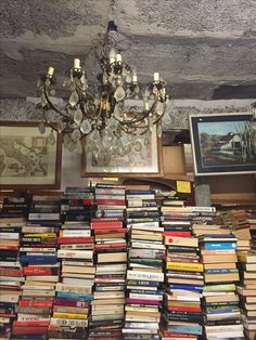 The most peculiar bookshop in the world: libreria dell'asqua alta (high water bookshop) in Venice, Italy, where books are stacked in gondolas, boats and even bathtubs to protect them from the floods affecting the city! The result is a charming bookshop with a fantastic bohemian feeling