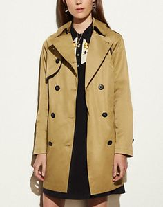 COTTON CONVERTIBLE TRENCH - Alternate View 1
