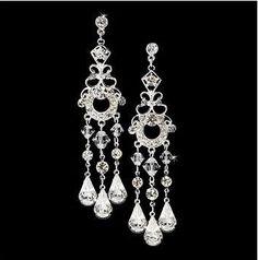 """Boucles d'oreilles chandeliers vintage """"Aphrodite"""" €48"""