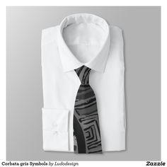 Corbata gris Symbols