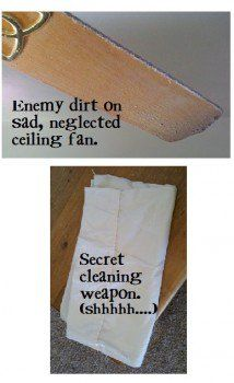Cleaning Your Ceiling Fan