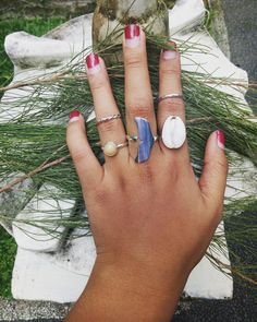 Summer vibe babes 😍.... Opal stone ring, whale ring, shell ring, and two plain rings. DM me for more information or check at www.pagi.lol : I also accept reseller and dropshipper with special price. : Happy shopping guys!!! #PAGi #pagi #pagijewelry #jewelry #jewelrydesigner #shell #plain #whale #summer #vibes #opal #kuta #seminyak #denpasar #ubud #jimbaran #silverjewelry #ring #valentines #travel #photography #yoga #bohemian #gypsy #xoxo #beach #bali #indonesia #shoping #shopinbali