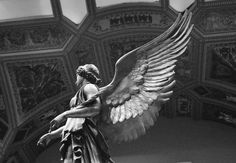 Untitled #grey #greytheme #angel #blackandwhite #grayaesthetic #gray #woman #grunge #statue #alternative #graytheme #museum #indie #photooftheday #L4L #random #colors #tagforlikes