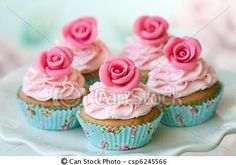 Stock Photo - Vintage cupcakes - stock image, images, royalty free photo, stock photos, stock photograph, stock photographs, picture, pictures, graphic, graphics