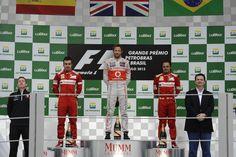 Podium - 2012 Brazilian Formula 1 Grand Prix, Formula 1