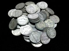 Silver War Nickels 1942 1943 1944 1945 P D S 5C Key Lot of 83 $4.15 Face $*
