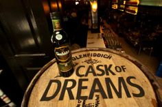 """To celebrate its125th birthday Glenfiddich unveiled a """"Cask of Dreams"""" campaign, rolling brand new American oak barrels through eleven different cities and asking passersby to write their hopes or dreams on the cask."""