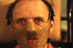 Anthony Hopkins as Hannibal Lecter in The Silence of the Lambs . Yo, I love Mads but Hopkins will always take the cake. Scary Movies, Great Movies, Horror Movies, Horror Art, Clarice Starling, Film Mythique, Sir Anthony Hopkins, Films Cinema, Jodie Foster
