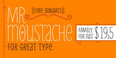 Mr Moustache™ - Webfont & Desktop font « MyFonts