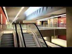 Projeto da Linha 4 do Metrô do Rio de Janeiro, Ligando a Barra da Tijuca (Zona Oeste) à Ipanema (Zona Sul) da cidade. A linha faz parte do projeto para a sed...