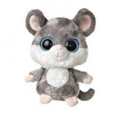 Aurora World Plush - YooHoo Friends - TWITCHEE the Grey Mouse (5 inch)