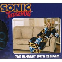Sonic The Hedgehog Comfy Throw Blanket