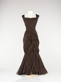 Dress, Evening  Jean Dessès  (French, born Eqypt, 1904–1970)  I would have loved to have worn this.