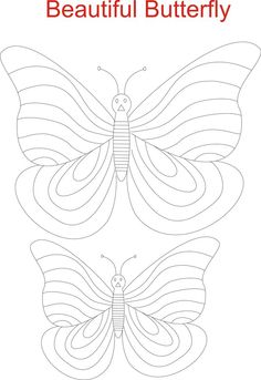 Awesome Kids Angel Butterfly Coloring Page Printable High Quality - http://www.coloringoutline.com/awesome-kids-angel-butterfly-coloring-page-printable-high-quality/