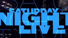 SNL Opening Sequence